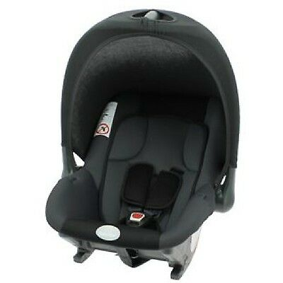 New Nania BabyStart Baby Ride Babyride Infant Carrier Car Seat 0-9m Black