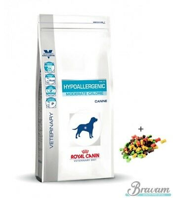 7kg ROYAL CANIN  Hypoallergenic Moderate Calorie HME 23 + SNACKS GRATIS