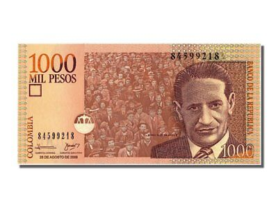 [#301403] Colombia, 1000 Pesos, 2008, 2008-08-28, FDS