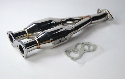 Stainless Steel Exhaust Cat Removal Down Pipe For Seat Leon Cupra R 1.8T 225Hp