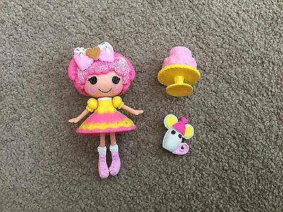 Crumbs Sugar Cookie season 15 Super Silly Party mini LalaLoopsy - UK FREEPOST
