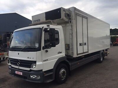2006 06 Mercedes Atego 1324 13.5 ton 24ft Fridge tail lift 1 owner dual comp