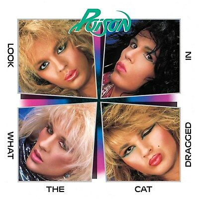 Poison Look What The Cat Dragged In 12x12 Borderless Glossy Album Print Replica