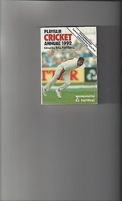 Playfair Cricket Annual 1992