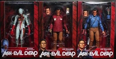 Ash vs Evil Dead Bruce Campbell Value Stop & Hero and Eligos Action Figure NECA