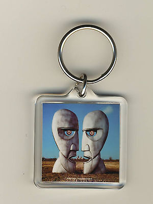Pink Floyd The Division Bell Acrylic Photo Keychain Key Fob Key Ring