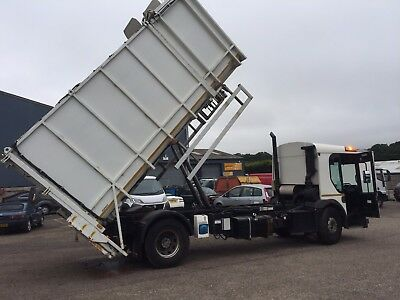 2005 54 Dennis 18ton AMAZING binlift toploader tipper and tail lift! low use km