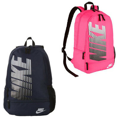 7d3f734638 Nike Classic North Backpack NEW 2 Colors Navy or Pink School Gym Travel Bag