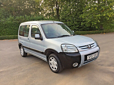 2007 PEUGEOT PARTNER MPV WHEELCHAIR ACCESS VEHICLE WAV only £2995 ONO