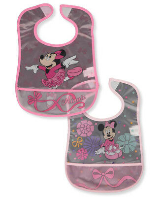 Minnie Mouse 2-Pack Bibs