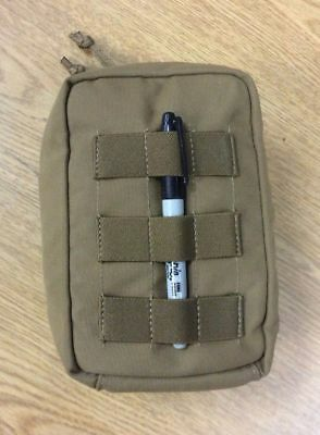 Genuine Modular Tactical Taylor Coyote Brown Zippered Utility Pouch Usgi Molle