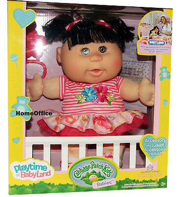 Cabbage Patch Kids Doll Baby Girl - Playtime At Babyland New Bl