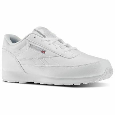 df9d02064fc65d Reebok Men s Classic Renaissance D   Wide 4E Shoe NEW White Steel 9.5   14