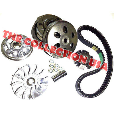 Transmission Rebuild Kit Carter Talon 150 Go Kart Variator Pulley Clutch Belt