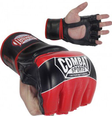 Combat Sports Pro Style MMA Gloves - Red