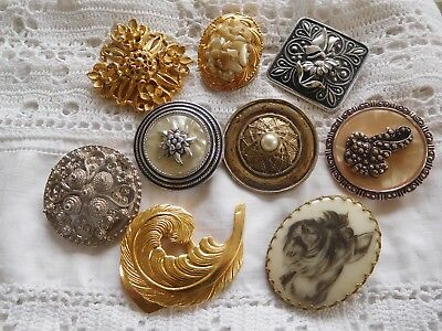 Lovely Collection of Vintage 1950s/60s SCAARF Clips