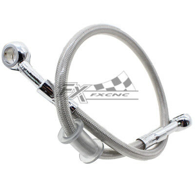 FXCNC Hydraulic Brake Oil Hose Line Banjo Fitting Stainless Steel For 110-200cm