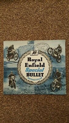 Royal Enfield Special Bullet sales brochure