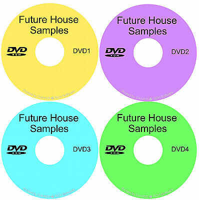 Future House & EDM loops, samples, midi & patches - 18GB+ on 4 DVDS