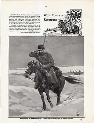 World War 1, Russia Resurgent, 18 Pages