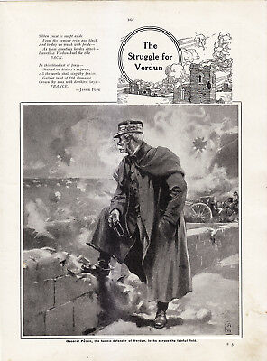 World War 1, Struggle For Verdun, 32 Pages