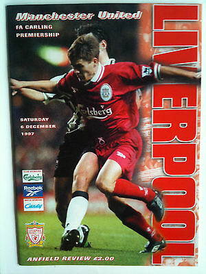 MINT 1997/98 Liverpool v Manchester United Premier League