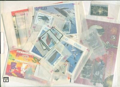 1980's+1990's British Antarctic Stamps High Values +Almost Complete-Catalog $900