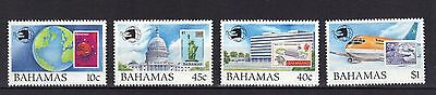 Bahamas. World Stamp Expo   Mnh 1989