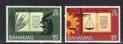 Bahamas.  Anniversary Of West Indies University Mnh 1974