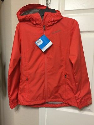 NWT Columbia Hydro-Seeker Jacket with Hood Womens size S / P originally $90