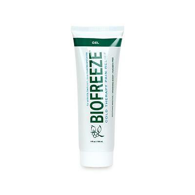 BRAND NEW BIOFREEZE PAIN RELIEVING GEL 4 OZ TUBES GENUINE BIOFREEZE 5% Menthol