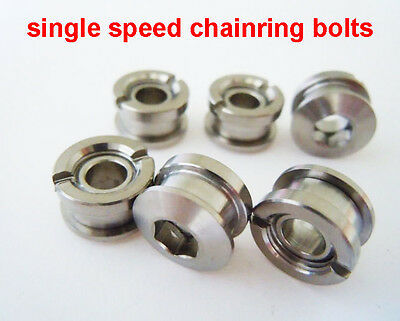 standard 1-20  single speed fixie bike cycle Chainring Bolts chainring nuts