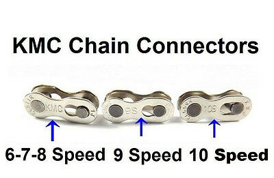 2 PAIRS KMC 6/7/8 & 9 &10 Speed Easy Replacement Master Chain Master Link join#