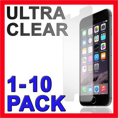 Ultra Clear Screen Protector Film Guard Cover for Apple iPhone 5 5s 6 7 8 Plus X