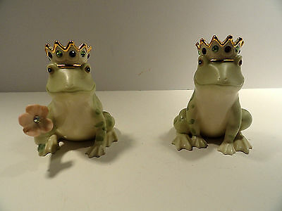 Lenox Frog Prince Salt and Pepper Shakers