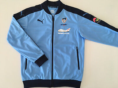 Sydney Fc 2016 / 2017 Training Jacket Mens S 2Xl Only New Rrp $140