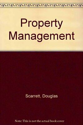 Property Management by Scarrett, Douglas Paperback Book The Cheap Fast Free Post
