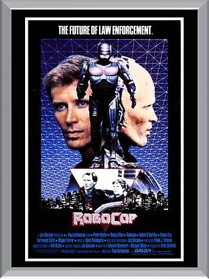 Robocop 1987 Movie A1 To A4 Size Poster Prints