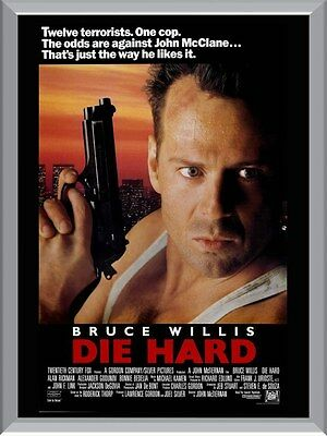 Die Hard Movie A1 To A4 Size Poster Prints