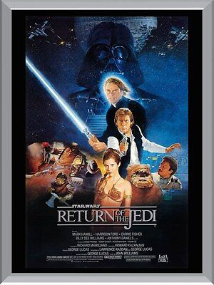Return Of The Jedi Movie A1 To A4 Size Poster Prints