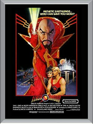 Flash Gordon Movie A1 To A4 Size Poster Prints