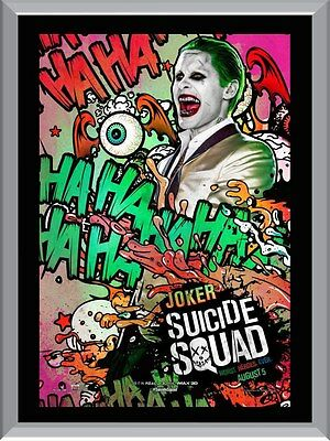 Suicide Squad - Joker A1 To A4 Size Poster Prints