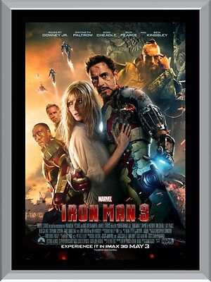Iron Man 3 Movie A1 To A4 Size Poster Prints