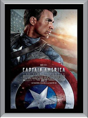 Captain America The First Avenger Movie A1 To A4 Size Poster Prints