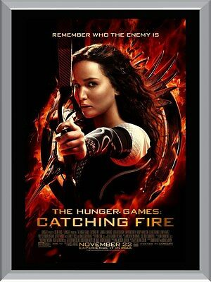 Hunger Games Catching Fire Movie A1 To A4 Size Poster Prints