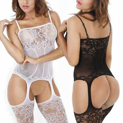 Women Lace Sexy-Lingerie Nightwear Underwear G-string Babydoll Sleepwear Dress