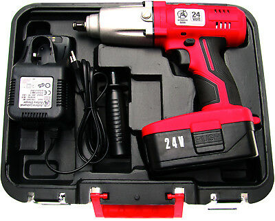 "BGS German Cordless Impact Driver Impact Wrench Rattle Gun 1/2""dr 450Nm 335ft/lb"