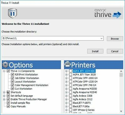 Onyx Thrive 211 RIP Software  - Complete, OEM Packaging