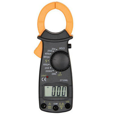 Home Digital Portable Clamp Ammeter Professional AC/DC Voltmeter Tester NEW