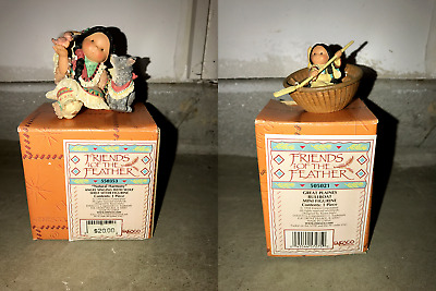RARE COLLECTION of Vintage1994 Enesco Friends of the Feather Figurines